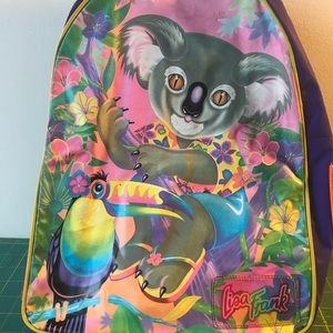 90s Rave Neon Lisa Frank Club Kids Backpack